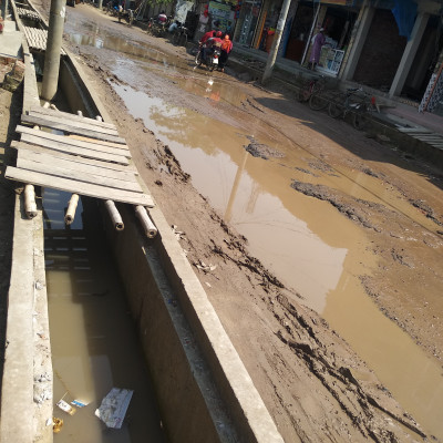Due to the bad condition of Satkhira to Asashuni road, people have become very annoyed but people are not able to walk anymore. Therefore, the demand of these people is to fix the road as soon as possible.