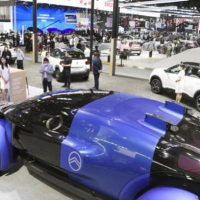 The Beijing motor show, the biggest of its kind since the coronavirus pandemic, kicked off on Saturday, with China claiming it has brought the outbreak under control and the country's economy has begun to bounce back.  The motor show was originally scheduled to be held in April, but it was delayed against a backdrop of the spread of the virus, first detected in the central Chinese city of Wuhan.  In a bid to capitalize on the world's largest automobile market and population of over 1.4 billion people, many carmakers, including those from Japan and Europe, are eager to boost sales of eco-friendly cars as well as automated and electric vehicles in China.  Some automakers, however, decided to call off exhibiting their new cars following the five-month postponement.  At the 16th Beijing motor show, Toyota Motor Corp. unveiled its e-Palette, a self-driving vehicle that is slated to be used for the Tokyo Summer Olympics and Paralympics, which has been put off by one year to 2021.