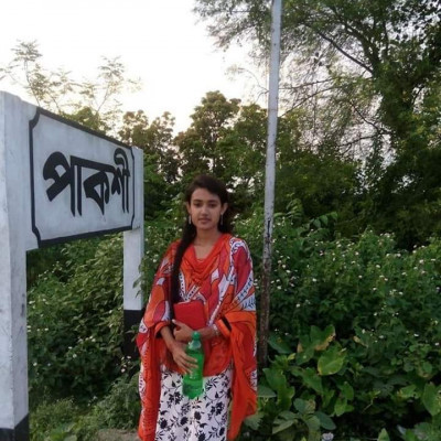 Hello Batchmate: (Assalamu Alaikum)   Name: Fawzia Ruma  Address: Bheramara, Kushtia  SSC: Halima Begum Academy ....  SSC: Bheramara College.  Arnas: Same: (Sociology)   I saw many achievements of all, I don't have anything like that. So I was wondering whether I would come to be known or not.   I don't have any hobbies. I want to do a small job. I don't think I have any qualifications. I love to sleep.  I have a lot of desire to learn car driving, I will learn it inshaAllah.  Thanks Group Moderator K. This is a good platform. I wish good health to all the friends of the 2013 batch.  #