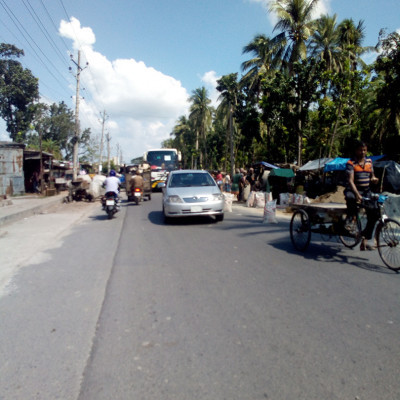 this picture is a picture of a board.  Another thing is that the condition of this road in Satkhira district of Bangladesh is now dilapidated.  Where there are many big holes.  This is making it very difficult for the vehicles to move back and forth.  And this picture shows that in Satkhira district, in sokipur  Bazar road , at Main Point, there is a huge gorge.  And these cars are going to have a lot of trouble.  And it can lead to accidents at any time.  And many lives can be lost.  So we have to repair these roads as soon as possible.  And by doing so, people will be relieved of suffering.  And people will be able to use their destinations in a timely manner.  And there are many people in Satkhira from Asashuni every day to work.  Many days it becomes very difficult for a laborer to work at a certain time.  So as soon as possible a very urgent arrangement has to be made so that people get into trouble in traffic jams.