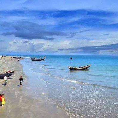 Hi friend how are you Saint Martin's Island is a coral island in the northeastern part of the Bay of Bengal in the far south of Bangladesh.  It is located at the mouth of the Naf River, about 9 km south of Teknaf in Cox's Bazar district and 8 km west of the coast of Myanmar.  It is also locally known as Narikel Jinjira because of the abundance of coconuts available.  Many years ago, in unfavorable weather conditions, an Arabian merchant ship carrying cinnamon crashed into a huge rock under the water, causing the cinnamon on board to spread all over the island, later renaming St. Martin's Island as 'Cinnamon'.  Island '.  The film Daruchini Dwip, written by Humayun Ahmed and directed by Taukir Ahmed, was shot here.  St. Martin's Island is a popular tourist destination.  During the tourist season, 5 launches come and go from the mainland of Bangladesh every day.  The real fun of St. Martin cannot be enjoyed without one night.  It is better to have two nights.  In that case 1 day may be reserved for Chera Dwip, another day for St. Martin.  Everyday tourists return in the afternoon, so the fun of visiting the island in the afternoon is different.  And if you can go to the full moon, then no need to wander around St. Martin's Island at night and increase your desire to live.