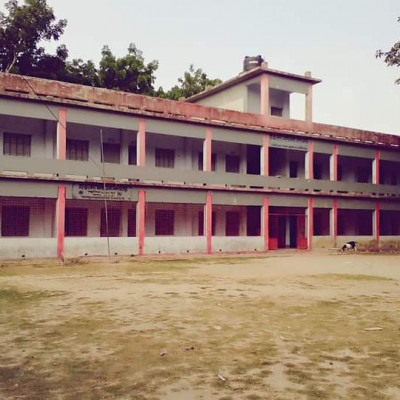 Here you can see a picture of a beautiful school.  This picture looks very nice.  It is located at Patkelghata in our Satkhira district.  And the name of this school is Nagarghata Secondary School. It looks very beautiful.  We can see that many children come to school to study.  And the standard of education in this school is very good. Many boys from far and wide come here to study.  It looks so beautiful.  It looks so beautiful to see.  And we can see that the plants look very beautiful.  We see him playing in a field in front of the school.  It looks great.  We can see that there is a village next to the school.  They study there and people live here.  And it is very nice to see them inside the village.  It is very beautiful to see this scene floating on the raft of white clouds in the blue sky.  I hope you like it too.  If you like it, please like and comment. Thank you.