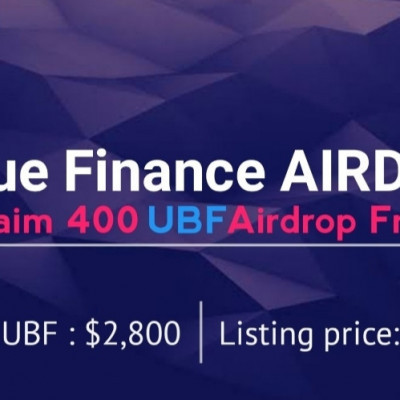 ➡️ Uniblue Airdrop ⬅️  Reward : 400 UBF  Link : https://unibluefinance.com  🔹Click claim 400 UBF 🔹Join Telegram group 🔹Complete other task 🔹Answer quiz & Submit your details 🔹Enter Referral : @khantong17 🔹Quiz answer : 1.Symmetric-key cryptography, Public-key cryptography 2.confidentiality, integrity, authentication, non-repudiation 3.Digital signature is used a science that studies mathematical techniques related to aspects of information security, data integrity, and data authentication, namely cryptographs. 4. The bit sequence will represent the original text which is then encrypted to get the text-code in the form of bits. Each plaintext process will be XORed with a key and will produce a ciphertext that will be used for the next process. 5.Cryptography, in general, is the science and art of maintaining confidentiality. the benefits of cryptography to solve problems that are arranged systematically. cryptographic agorithm is a logical step in how to hide messages from people who are not entitled to these messages. 6 uniswap  Done