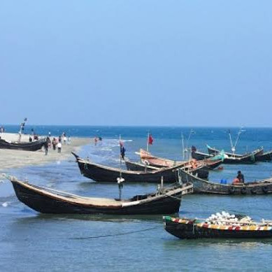 Work on the country's first island-based tourist center 'Naf Tourism Park' at the mouth of the Naf River in Teknaf, Cox's Bazar, is progressing rapidly.  The park is under construction on an area of ​​more than 290 acres.  Siam Siam International of Thailand has invested about USD 500 million in the supervision of Bangladesh Economic Zone Bazar.  Meanwhile, in the next two years, it is said to be suitable for tourists to travel.  Teknaf is a circular island visible from the mainland.  The island has been occupied by the locals for ages and has been cultivating fish.  In 2015, Pawan Chowdhury, chairman of the Bangladesh Economic Zone Bazar, took the initiative to make the island a Naf Tourism Park, thinking of developing an island-based tourism industry in the country.  Since then, its infrastructure has been moving forward rapidly.  The eco-friendly tourism park employs about 20,000 people and can attract one million tourists every year.  About 9 and a half kilometers from the mainland, you have to cross the river by cable car to reach the island.  With the opening of Naf Tourism Park, the tourism industry in Cox's Bazar will be considered at a unique height in the world court, said tourism entrepreneurs.   The park will have various facilities including hanging bridge, five star hotel, river cruise, eco cottage, children's park, floating restaurant, Myanmar on one side and rows of mountains on the other side, it is a wonderful combination of nature.  All in all, this Naf Tourism Park will be one of the favorite places of tourists.  Those concerned with tourism.  It has been newly built. A very beautiful park has been newly built inside Bangladesh. I hope you will like it a lot. It has become very popular at the present time. People are going here every day for picnics.  I hope you enjoyed it a lot. I am very happy and excited to present to you a picture of a new amazing park at the present time.