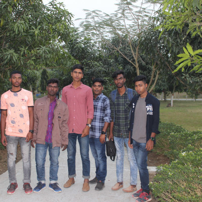 Education Tour Kushtia While visiting Rabindranath Tagore's house I took a picture with my friends. There are many younger brothers. It is very wonderful. You can see the picture standing on the same road. I will enjoy the natural beauty of the mango tree.  Like when we went out for a walk, this picture was taken. It's a wonderful picture. It's a wonderful day to go out together. It's a wonderful day.