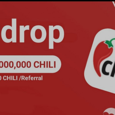 ➡️ Chili Airdrop Round 2 ⬅️   Reward : $5 in CHILI tokens  Link : https://t.me/ChiliAirdropBot?start=1775471156  🔹Join Telegram group & channel 🔹Complete other task 🔹Submit your details  Done
