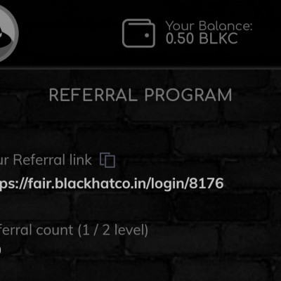 ➡️ Blackhat Airdrop ⬅️  Reward : 0.50 BLKC  Link : https://fair.blackhatco.in/login/8176  🔹Login With Telegram or discord 🔹Join Telegram group & channel 🔹Check your balance  Done