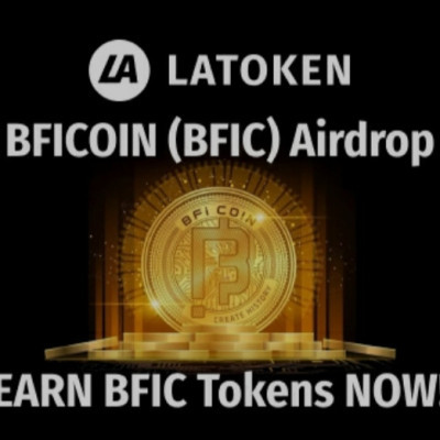 "➡️ BFIC x Latoken Airdrop ⬅️  Reward : 0.06 BFIC Referral : 0.03 BFIC  Link : https://t.me/latoken_airdrops_bot?start=8vwiynk2-airdrop_BFIC-source_def  🔹Register at Latoken & pass level 2 KYC. 🔹Submit your E-mail to the bot 🔹Click ""earn BFIC "" and Complete social tasks.  Done"