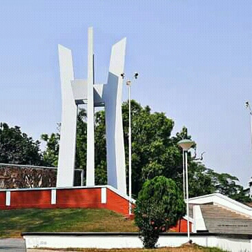 Shaheed Minar located at Rajshahi University.  The Shaheed Minar has been erected to commemorate those who gave their lives for the state language.  We pay homage to this Shaheed Minar every year on 21st February.  And for that there is such a Shaheed Minar in every educational institution.  We try to make this place very beautiful to show respect to the martyrs.  Rajshahi University is one of the best universities in Bangladesh.  In the varsity premises, a beautiful Shaheed Minar has been erected in memory of the martyrs. It has been made more and more beautiful.  A place of devotion.  In keeping with the natural environment, the university has been beautifully built to commemorate those who gave their lives for the boys and girls and has kept the Shaheed Minar clean and tidy with great care.