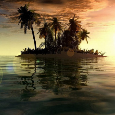 Here you can see an extreme place in the middle of a huge river and there are many coconut trees and it looks beautiful and looking at the environment the sky is blue clouds playing hide and seek and it looks beautiful like a child and it is located in Bangladesh and the name of this river  Jamuna