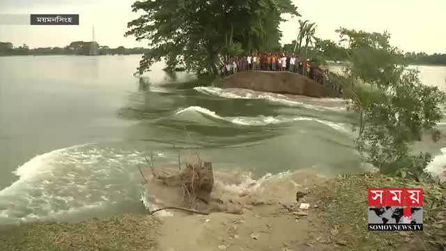 12 villages in Bangladesh have been submerged due to excess rains