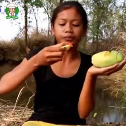 Watering_mouth_with_Green_mango_vs_Salt_and_Hot_chili, Credit_By_Survival_skills_Anywhere.