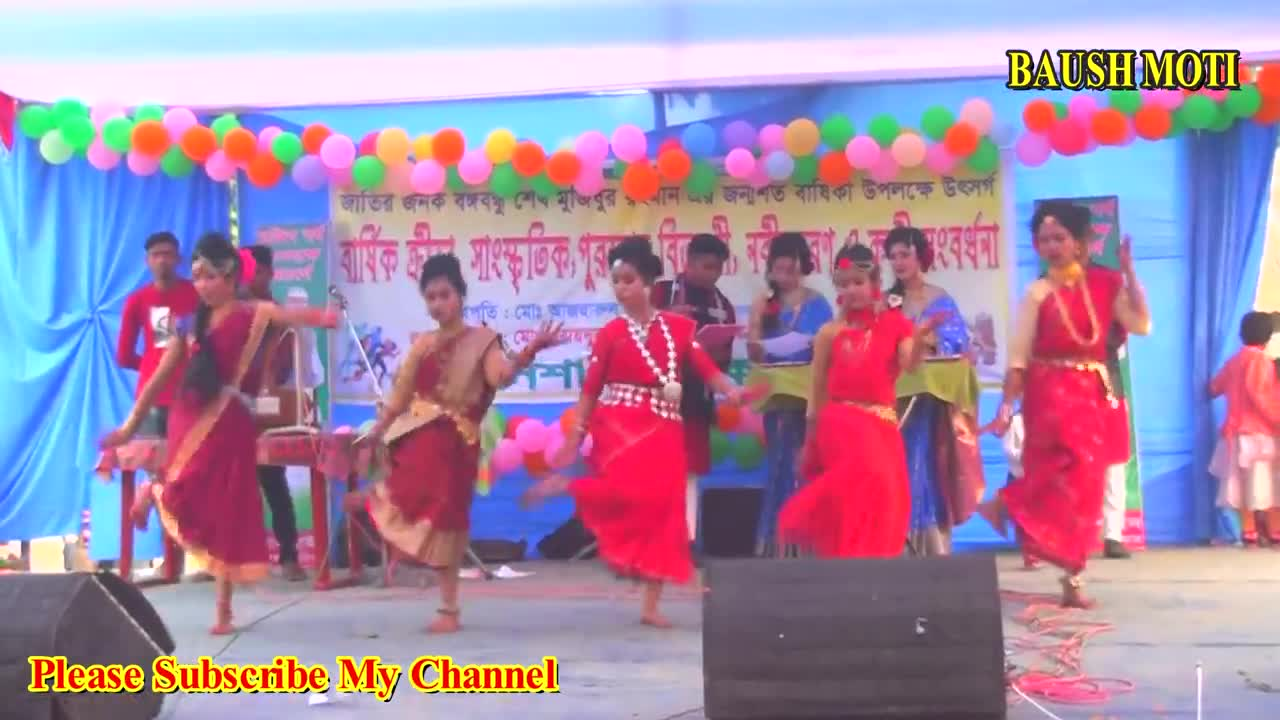 A dance that charms school girls is a very beautiful dance