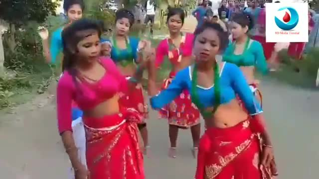 A video of the girls in the Chittagong Hill Tracts