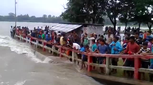 The worst flood of all time in Dinajpur
