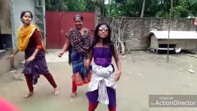 Impossible lungi dance