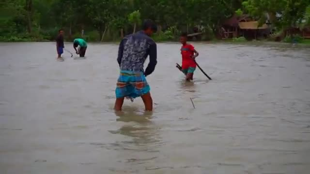 A fishing video.