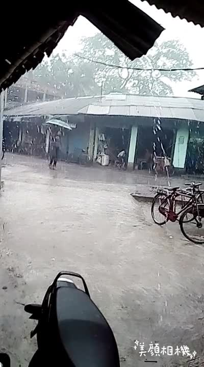 Extreme suffering of rainfall