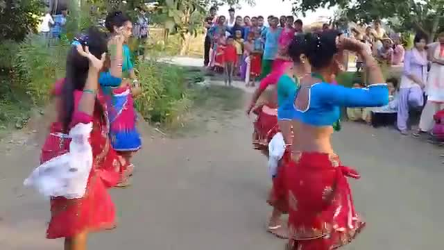 Awesome dance of Chakma tribes