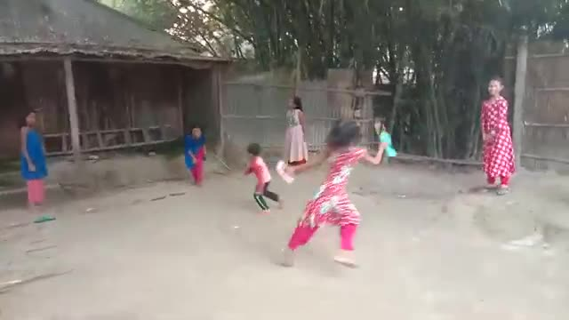 The traditional ancient shoe thief game of Bengal