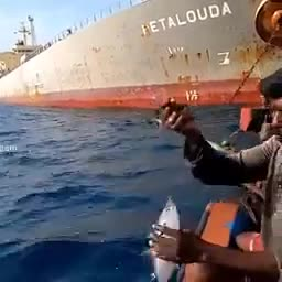Amazing fish catch.