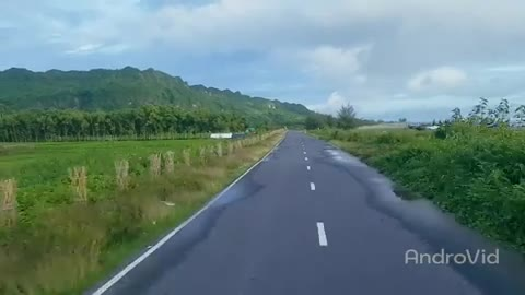 The road of Cox's Bazar is called Marine Road of Bangladesh.