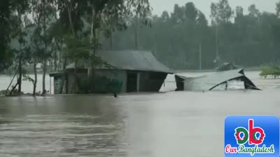 Asashuni Upazila of Satkhira have been trapped in water