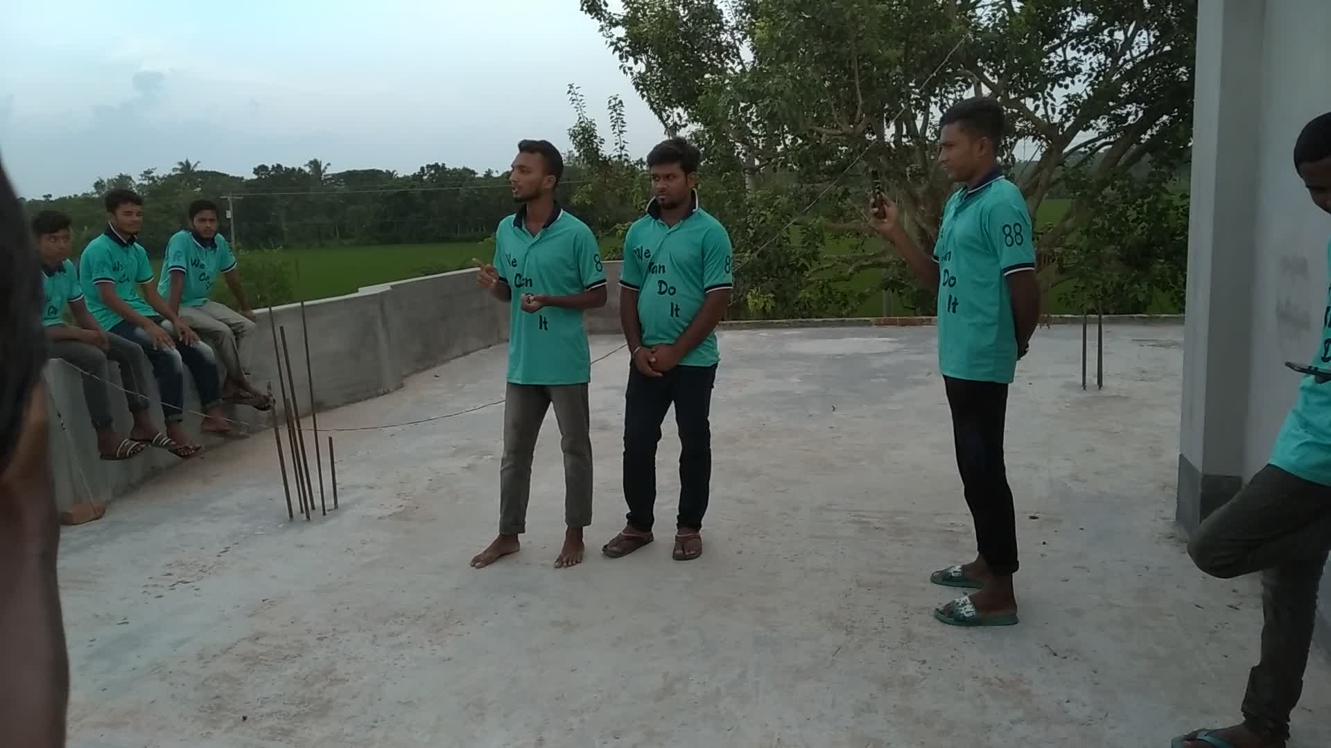 This video shows Md. Raihan Hossain release admin talking about relief.