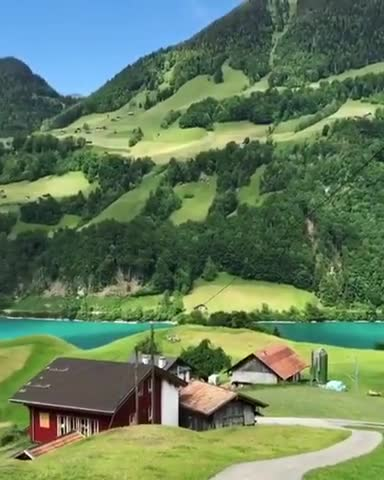 A beautiful landscape of Kashmir is described here in the video.