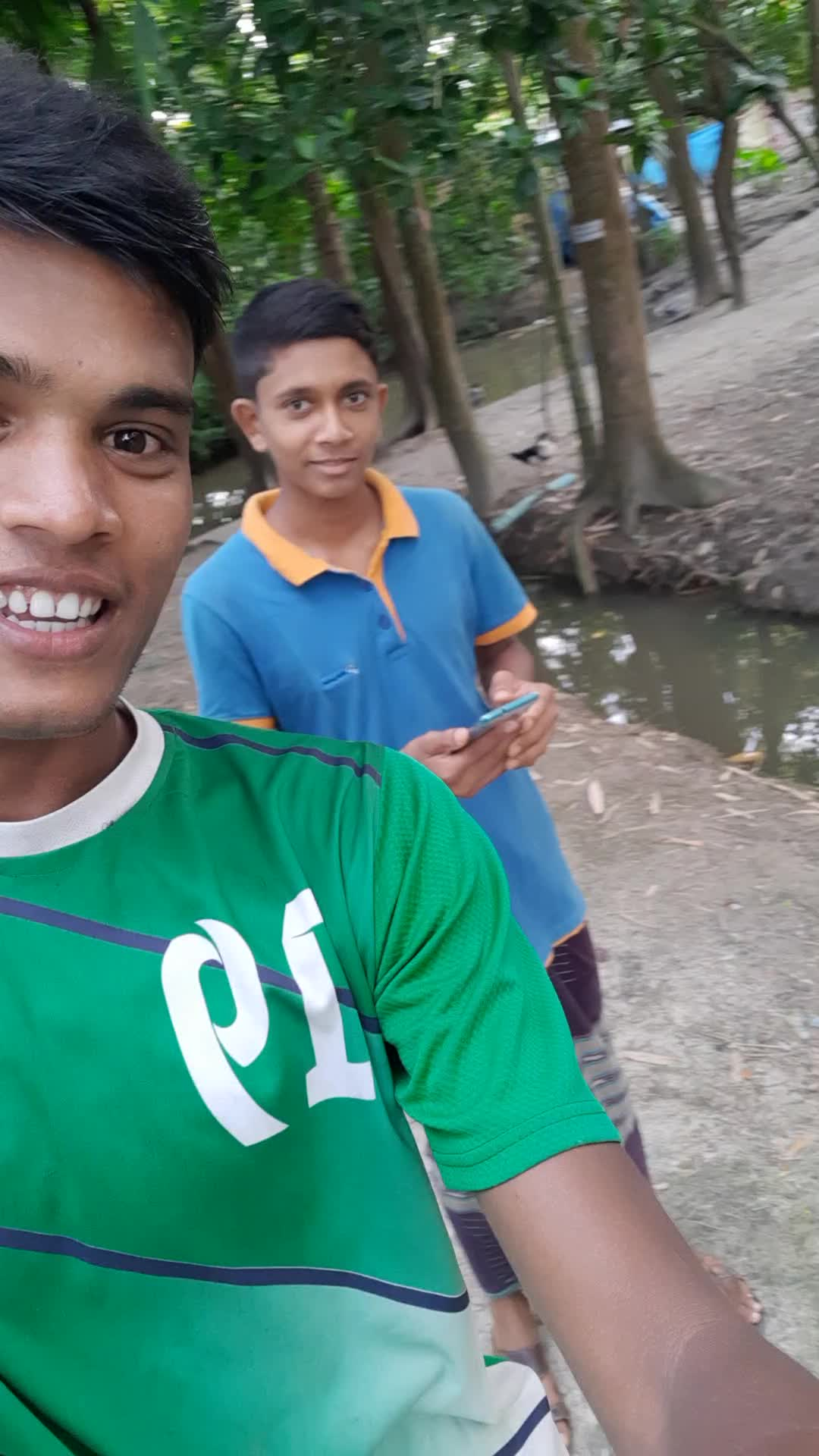 Afridi Hossain and I made the video together