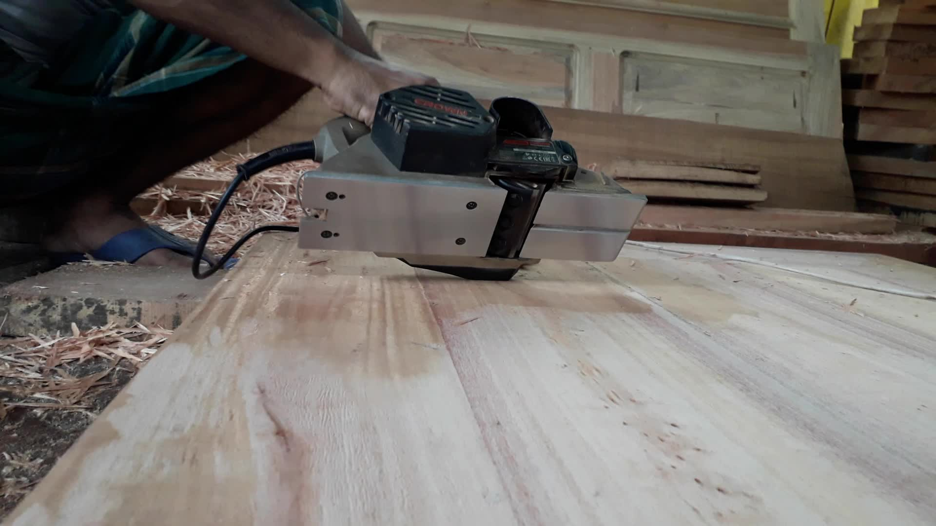 Digital Wood cleaning machine