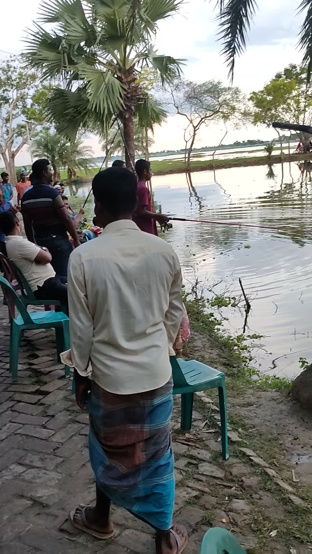 Fishing competitions, street hangouts, beautiful nature, Satkhira, Bangladesh