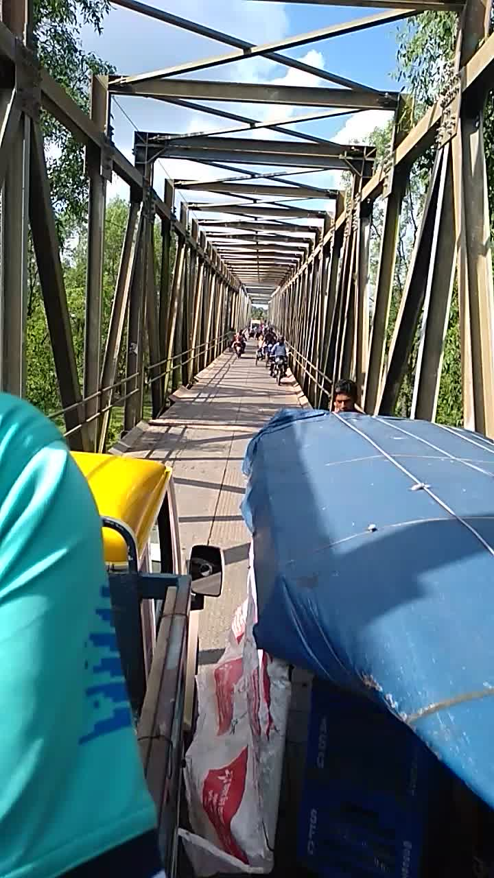 A video of a bridge can be seen