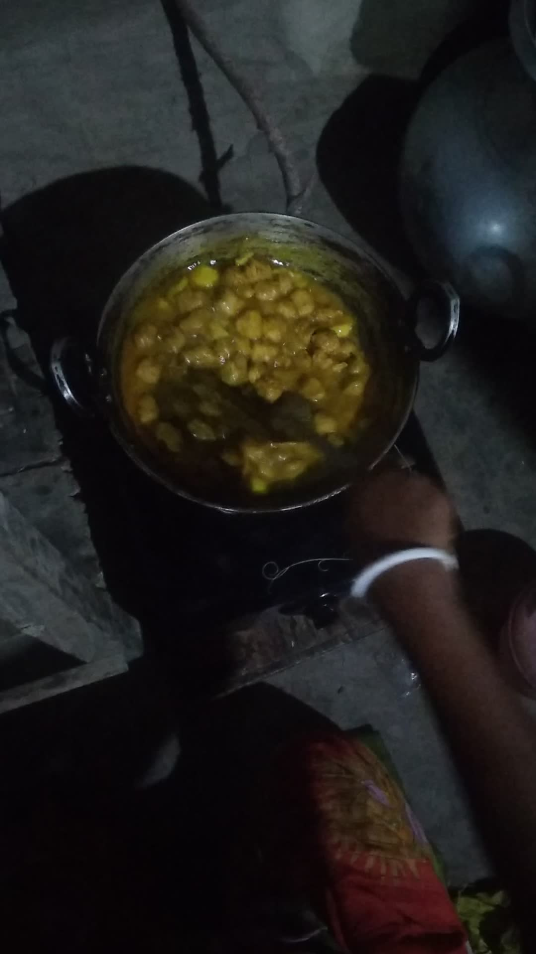 A delicious food are being Cook