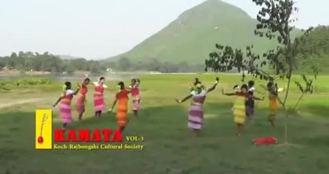 Her video is of tribal girls dancing Kartik in the hilly region of Sylhet.