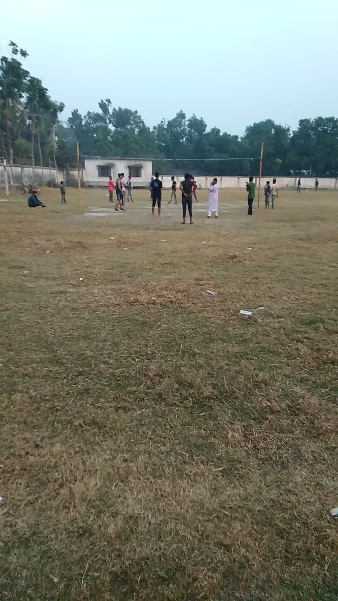 Video footage of volleyball and cricket?