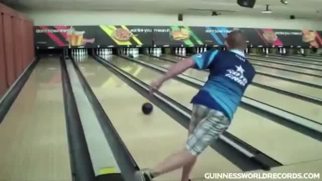 Great technique ball game🎳🎳