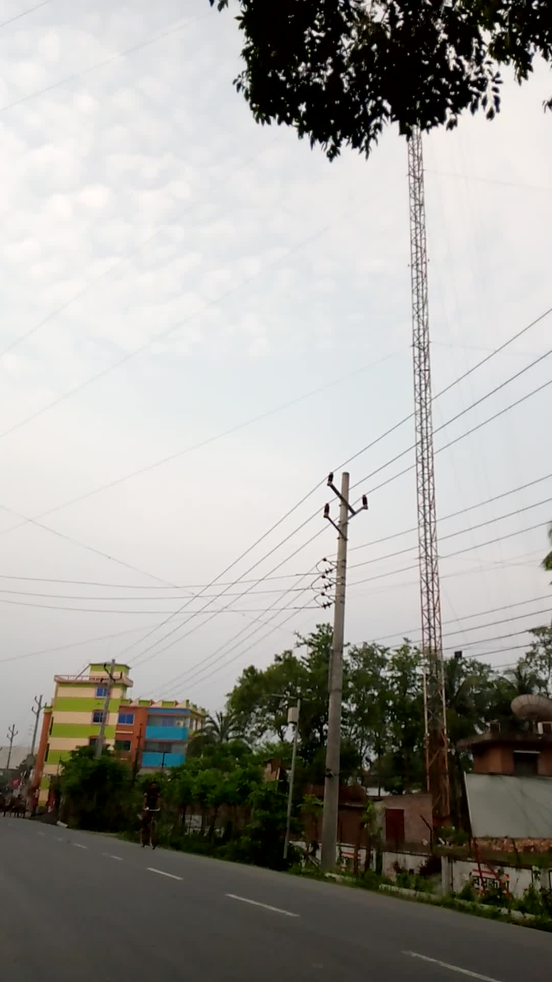 The largest tower in Satkhira
