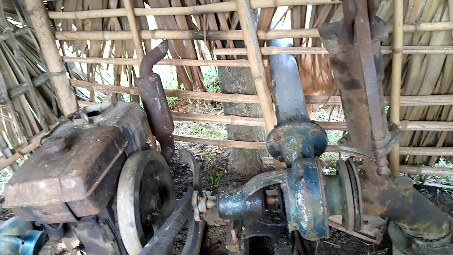 Irrigation machines used in agriculture