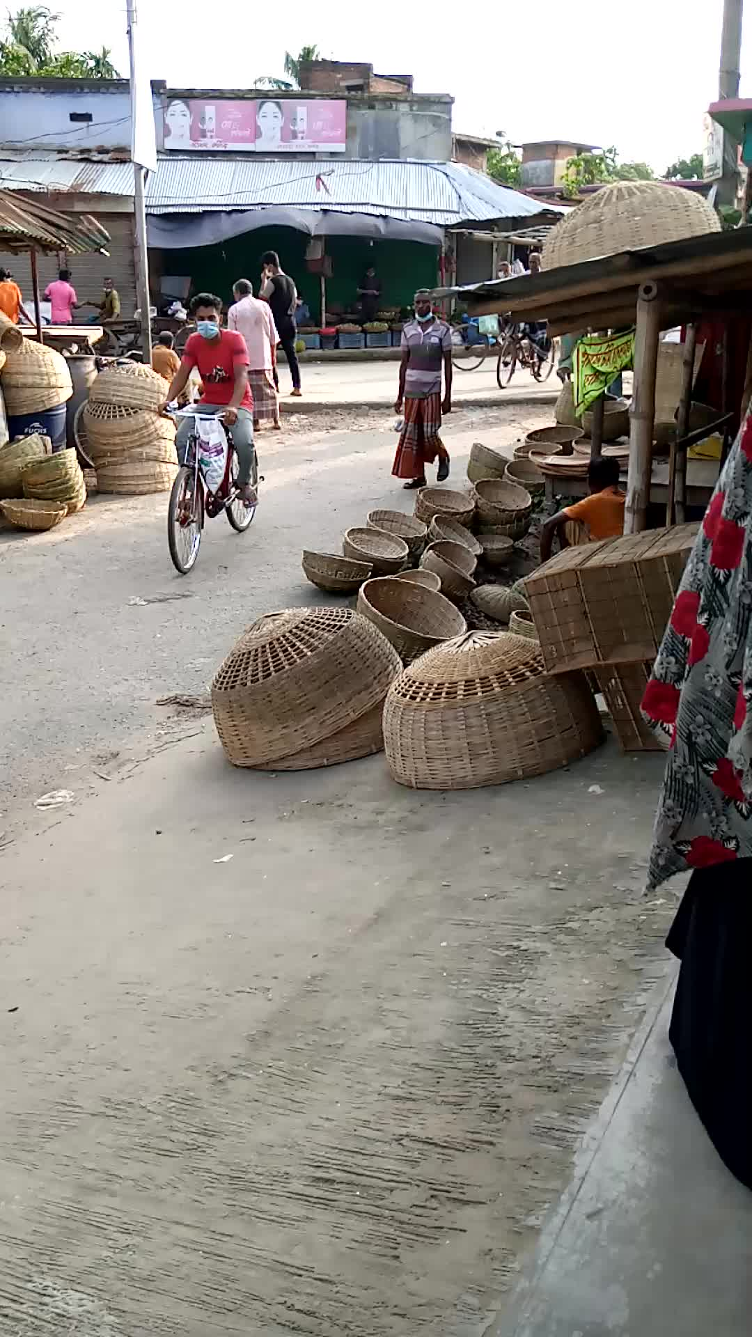 View of the rural market