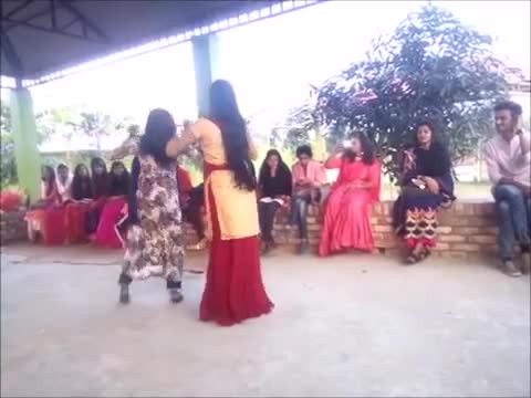 Jhenaidah is a wonderful dance of two girls