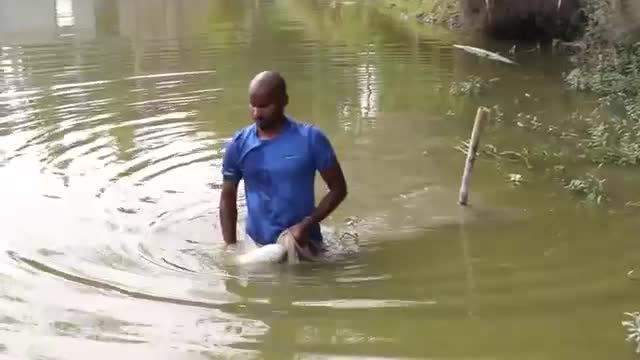 A brother goes down to the frightened river of the Sundarbans to catch fish