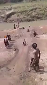 I remember the memories of my childhood, this game by the river, we remember how many games we played in our childhood, how much fun we had in this game
