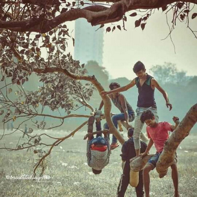 I remember the words of my childhood when I was supposed to hang out with friends, hang out in the trees and talk to my friends. I really miss those days, now I will never get back.